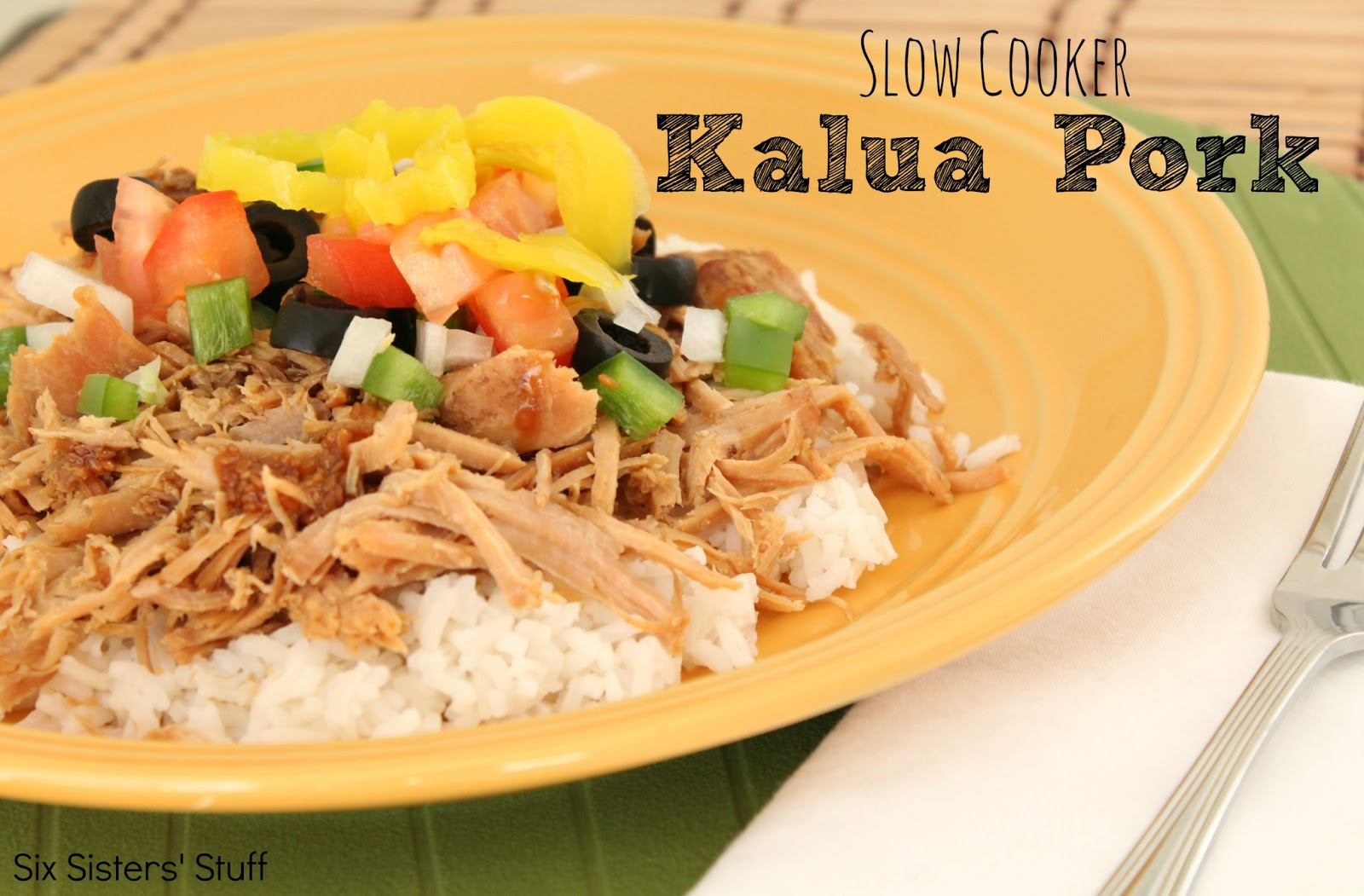 Slow Cooker Kalua Pork Roast Recipe | Six Sisters' Stuff