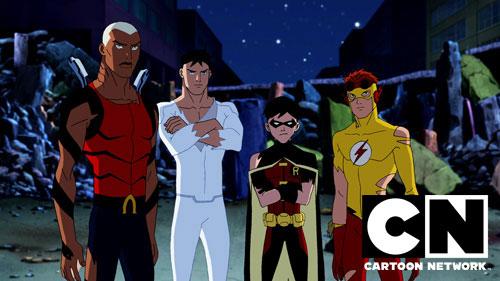 Justiça Jovem no Cartoon Network