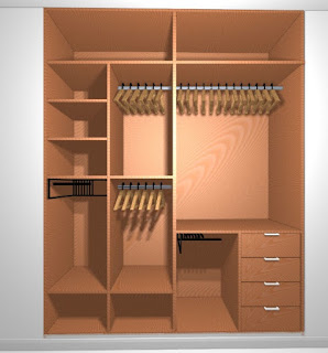 Montaje a medida de armarios y vestidores