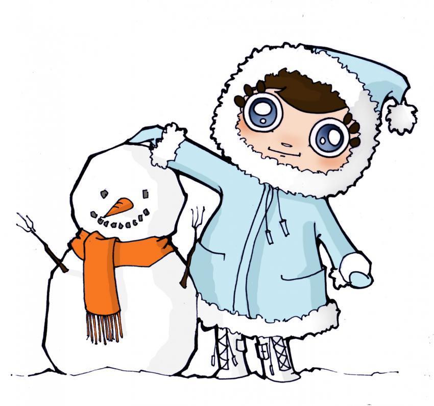 Dibujos de invierno ~ Vida Blogger