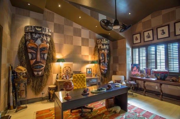 AFRICAN STYLE IN THE INTERIOR: THE CHARACTERISTIC FEATURES
