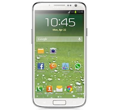 Samsung Galaxy SIV Render Image