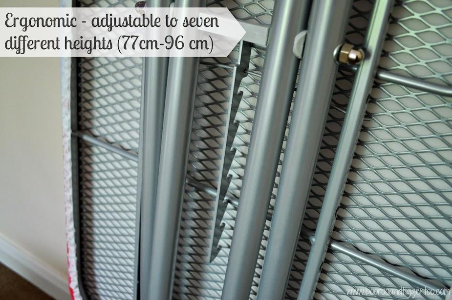 Brabantia Pink Santini - Height adjustable