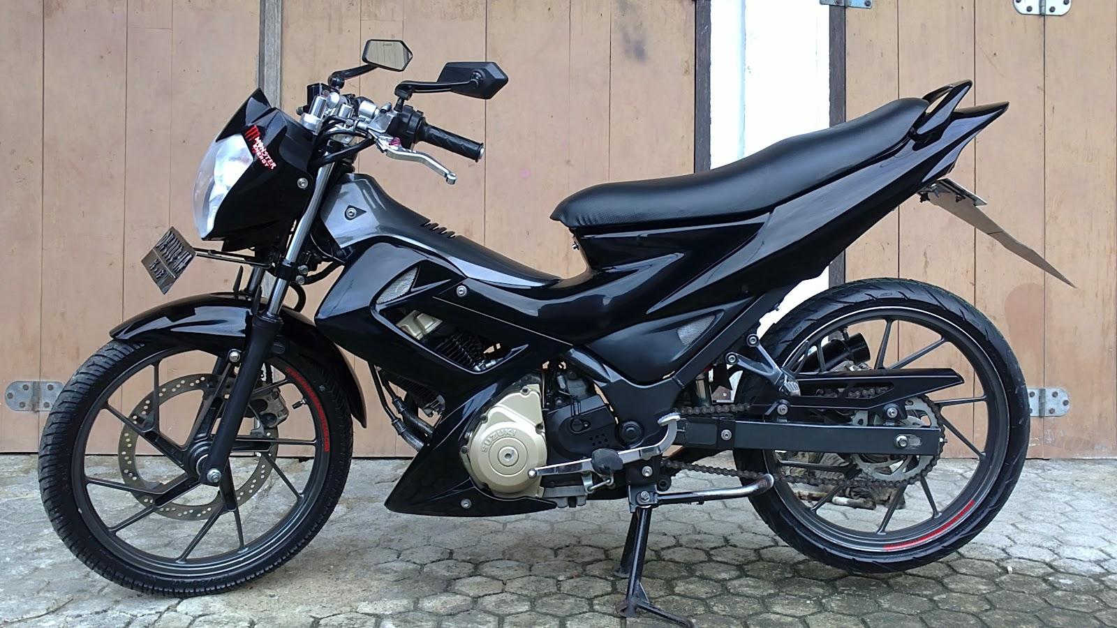 Foto Motor Bekas Dijual Suzuki Satria Harga Agenalatpressmotor