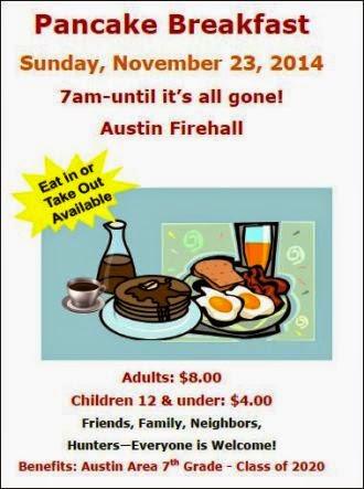 11-23 Pancake Breakfast  Austin