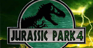 The poster of Jurassic Park 4