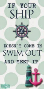 Swim for it