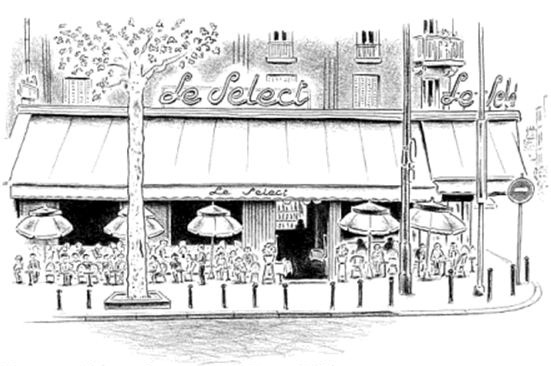 French Cafe Drawing 3 le Select Paris Cafe.jpg