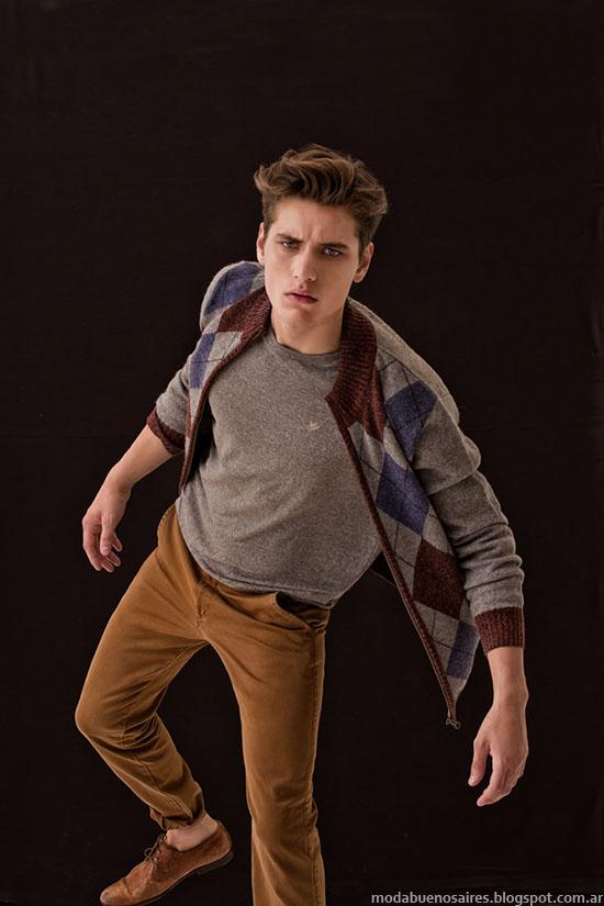 Tannery invierno 2015 moda hombre.