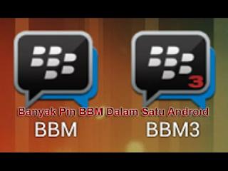 Download  App BBM Clone(BBM2+BBM3+BBM4) di Satu Android