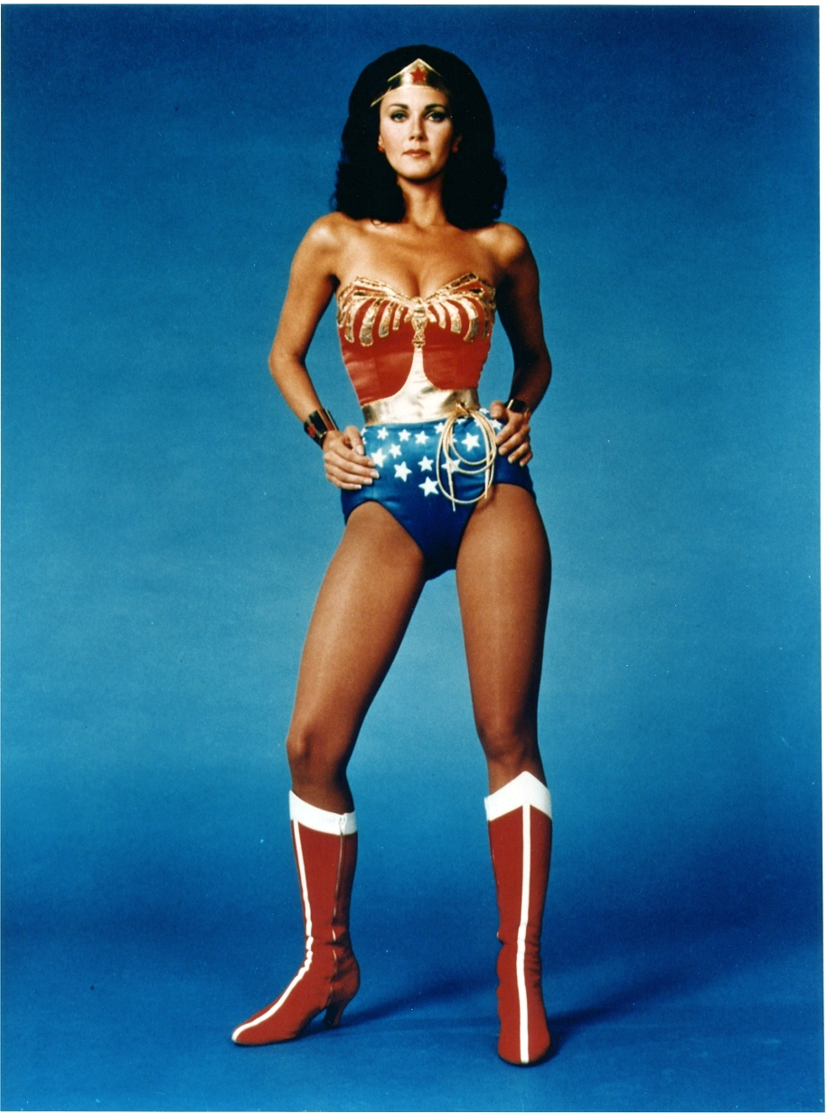 Lynda Carter As Wonder Woman Still