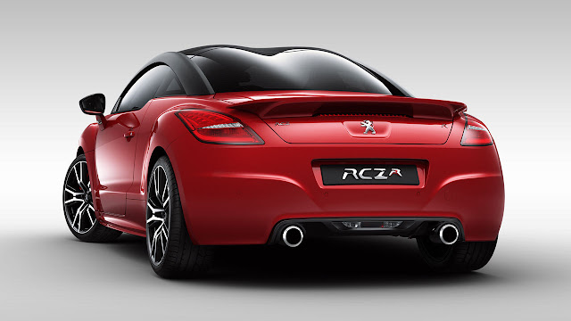 Peugeot RCZ R rear