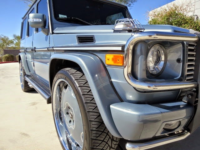 mercedes g55 amg tyres
