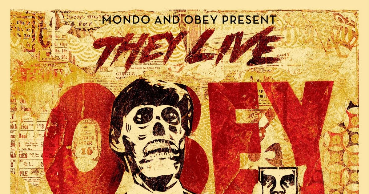 Super Punch: Shepard Fairey\'s The Live poster as desktop wallpapers