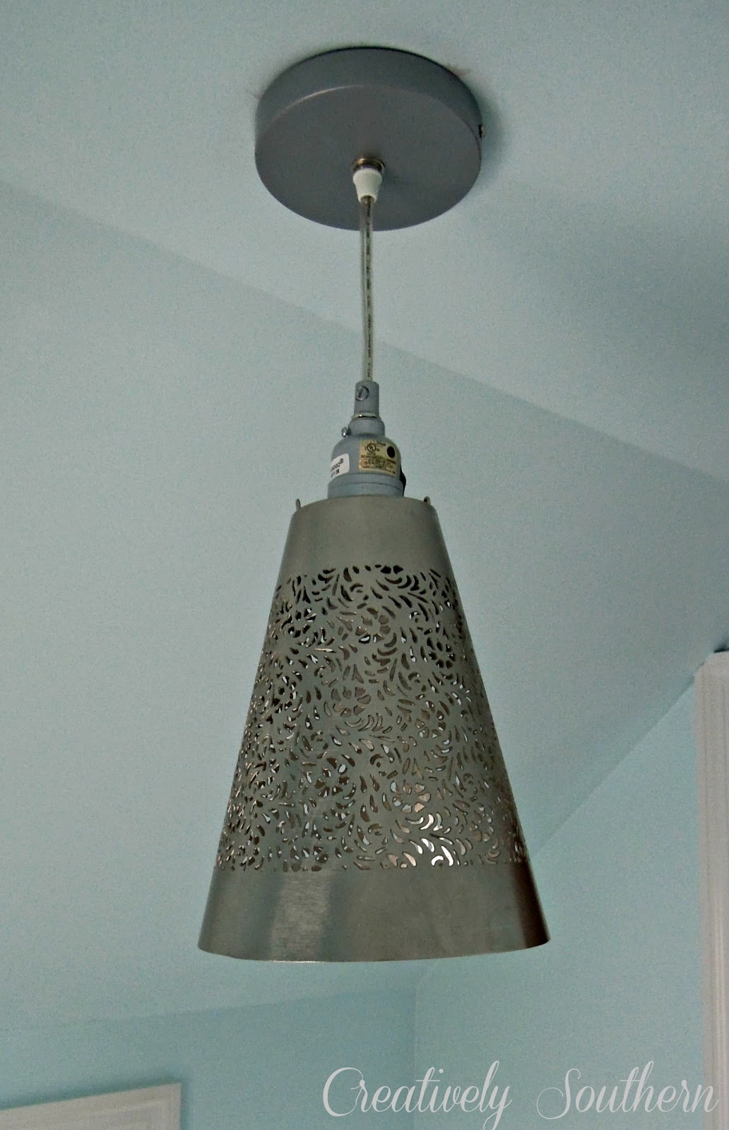 how to hang a pendant light