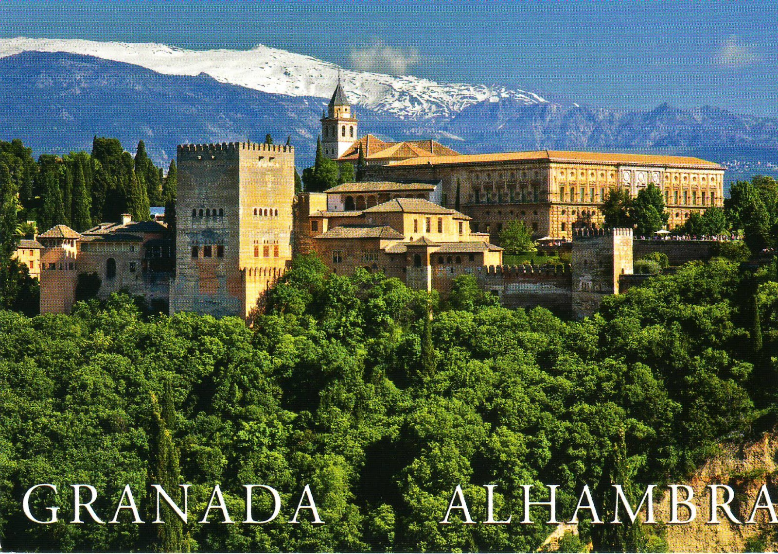 Tickets to The Alhambra Granada Spain images