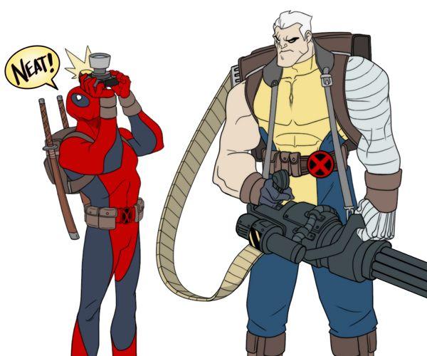 Inilah Para Anggota X-Men Saat Berada di Dunia Disney