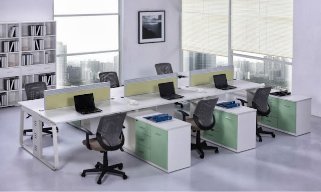Space furniture systems for Office arrangements small offices