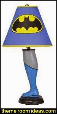 Batman Leg Lamp