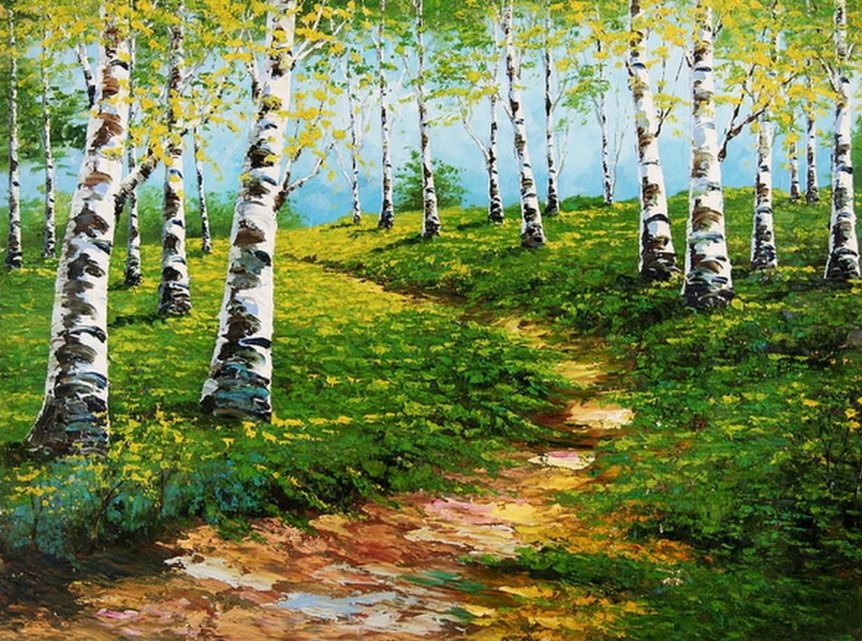 Cuadros pinturas oleos cuadros paisajes naturales al leo for Cuadros pintados al oleo