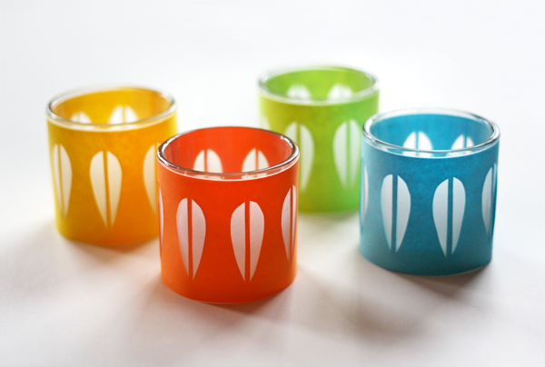 diy cathrineholm candleholders how about orange With kitchen colors with white cabinets with orange votive candle holders