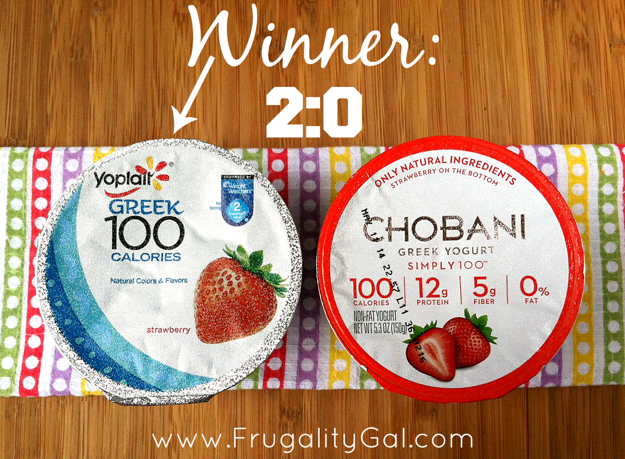 Yoplait Greek 100 Taste-Off