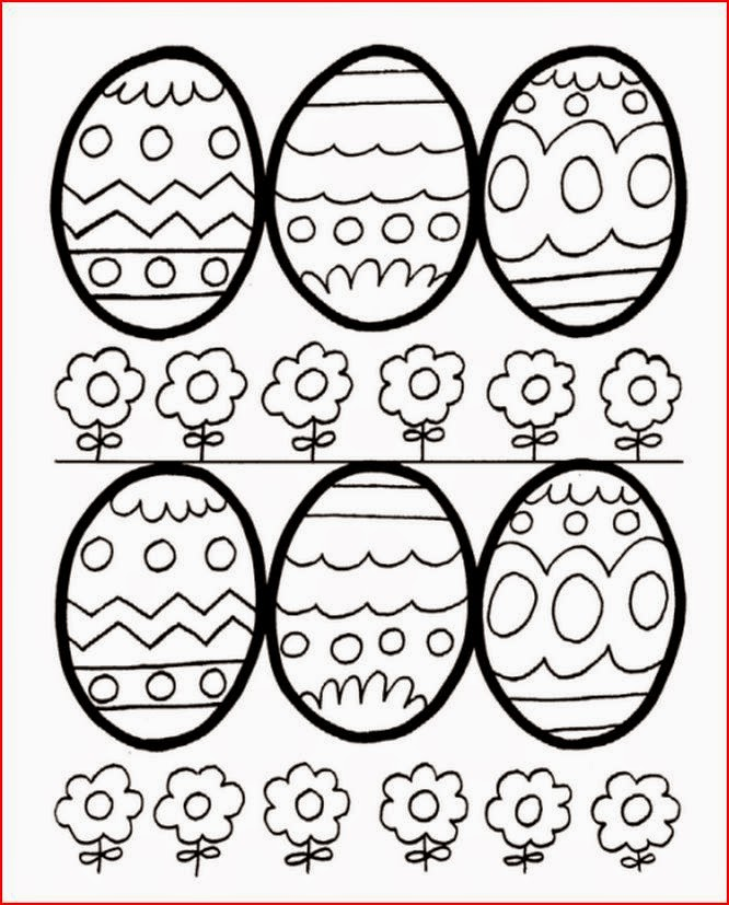 easter clip art coloring pages - photo #17