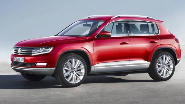 RenArt-auto: Nowy VW TIGUAN pod koniec 2014 roku