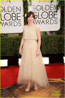 Zoey Deschanel Golden Globes