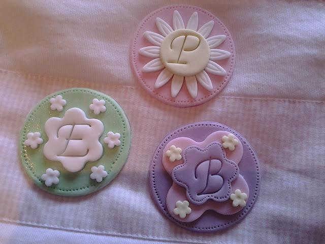 Biscotti decorati in pasta di zucchero comunione