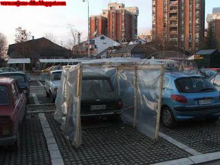 Smjesne slike, improvizacija, parkinga