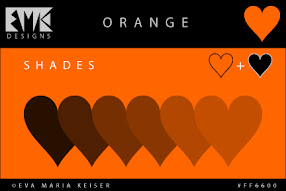 Shades of Orange: