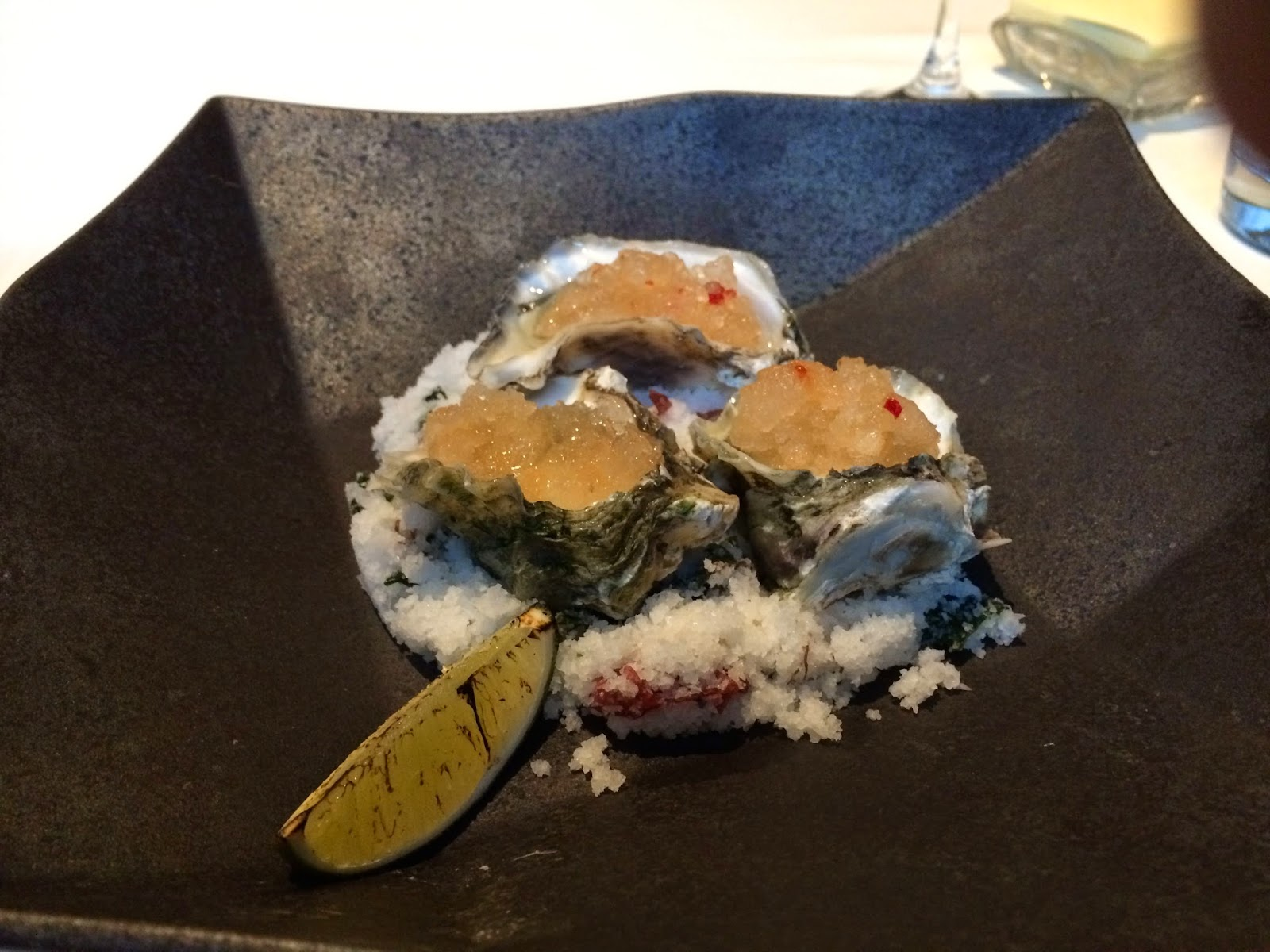 Oysters at Ame, SF