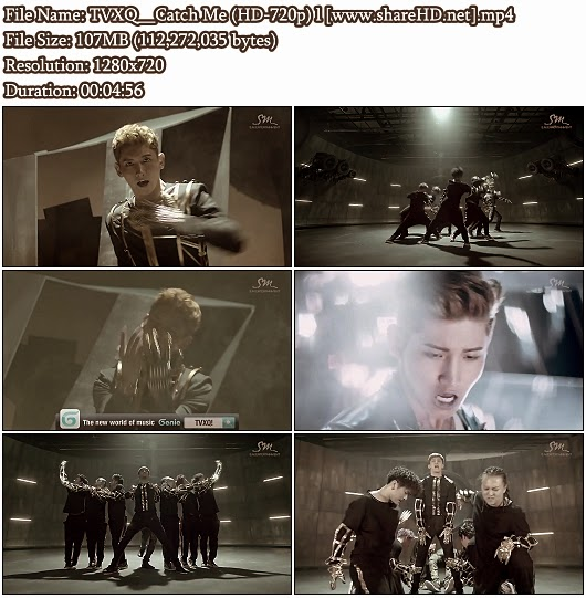 Download MV TVXQ (DBSK / 동방신기) - Catch Me (HD 720p)