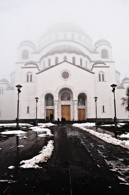 Die Kirche des heiligen Sava, Belgrad
