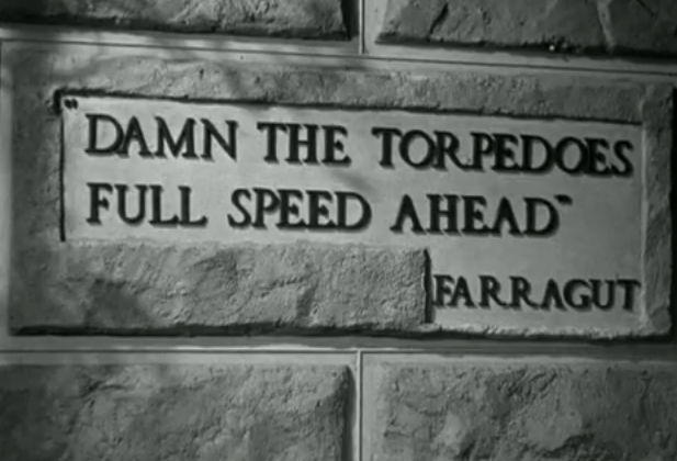 damn the torpedoes full speed ahead essay Tips on how to write essays quickly, concisely, and with panache  when i have an essay rolling  because i'm all damn the torpedoes full speed ahead.