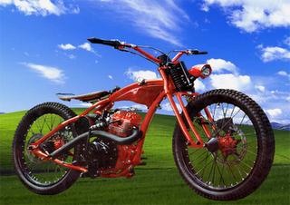 Honda CB Modif Harley