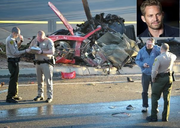 scenic photos paul walker crash scene photos uncensored. Black Bedroom Furniture Sets. Home Design Ideas
