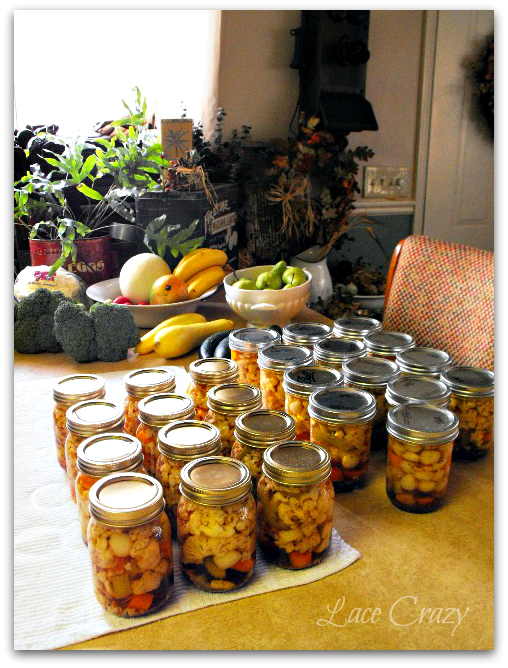 Pickled Cauliflower ~ Home Canning Recipe~!