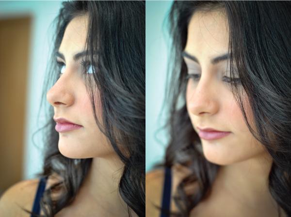 Bárbara Urias - maquiagem básica para o dia-a-dia. Por Hugo Martins do salão Platinum Visage