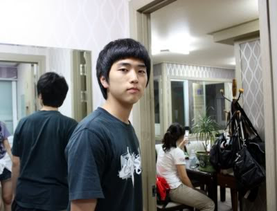Take a look at his pictures  B1a4 Sandeul Pre Debut