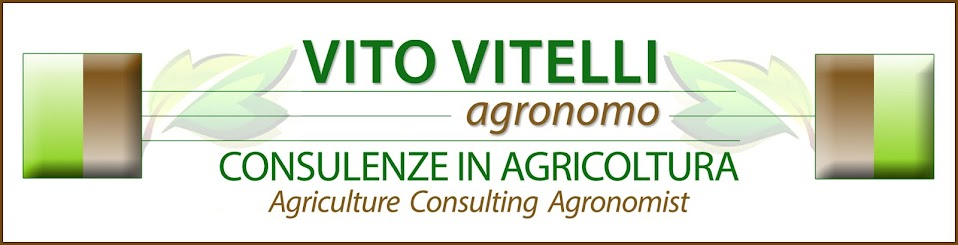 AGRICULTURE CONSULTING AGRONOMIST dell'Agronomo Vito Vitelli