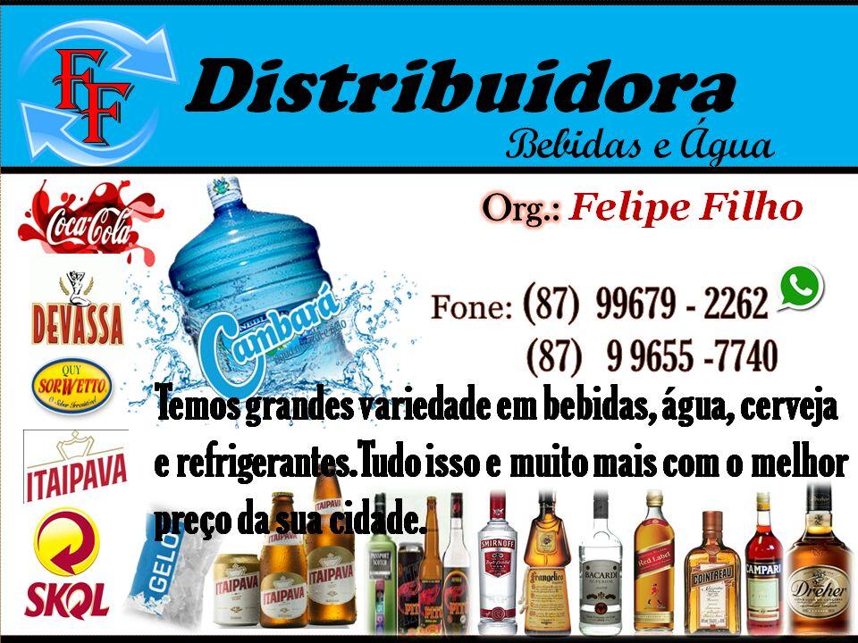 DISTRIBUIDORA DE BEBIDAS - FELIPE FILHO