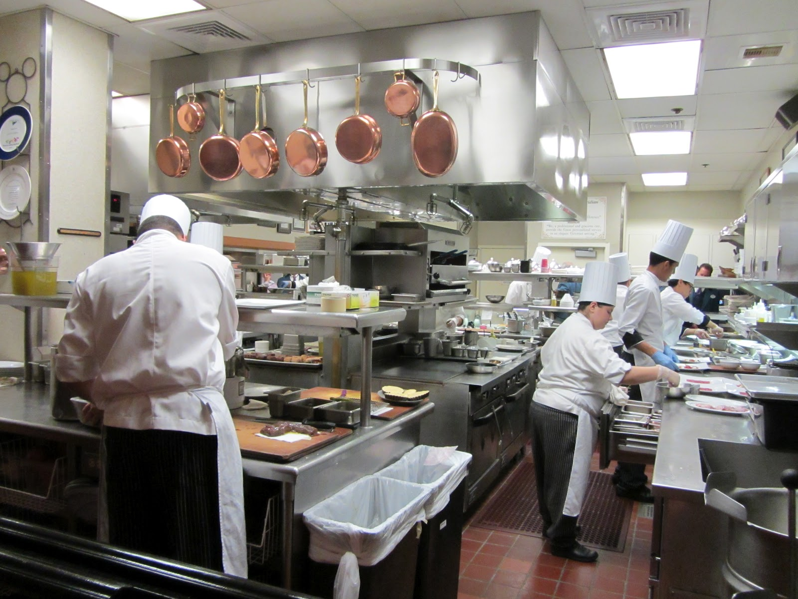 Busy Restaurant Kitchen feast and not a conventional restaurant kitchen as your next step