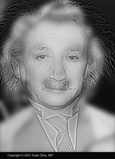 El Departamento del Cerebro y las Ciencias Cognitivas del MIT publica una imagen que te permite comprobar si tienes o no miopía ¿Ves a Einstein o a Marilyn? Aude Oliva, profesora del Departmento del Cerebro y las Ciencias Cognitivas del MIT, ha creado una imagen que permite comprobar con cierta facilidad si sufres o no de miopía. Este problema de la vista se debe a una exceso en la potencia de refracción en los medios transparentes del ojo con respecto a su longitud, algo que afecta particularmente la fidelidad de la vista frente a objetos que se encuentran a una