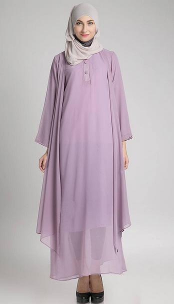 baju muslim hamil, model baju hamil trendy