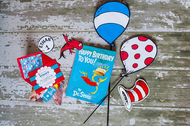 Dr. Seuss First Birthday