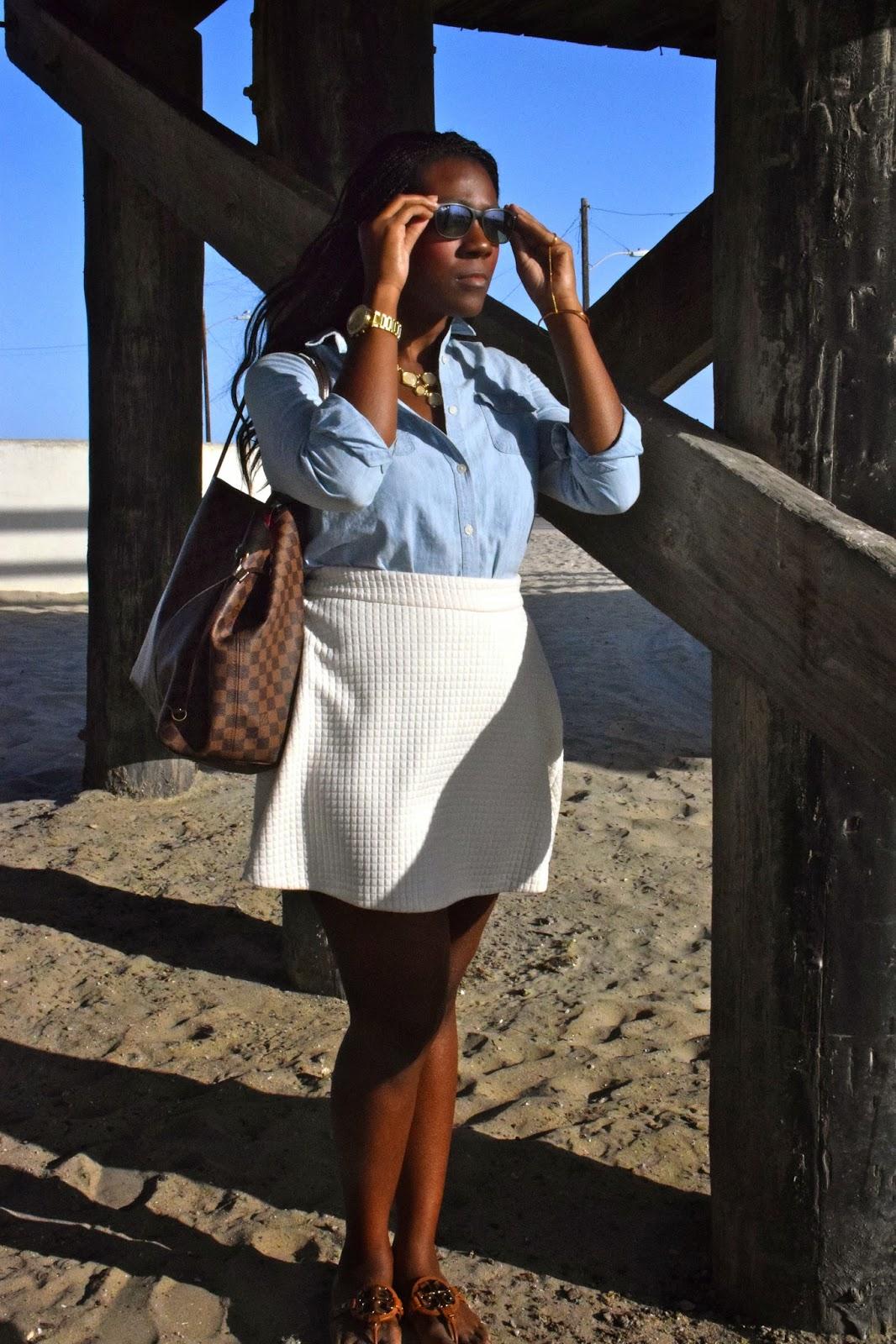 Chambray  Beach wear