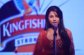 Annie Chawla at Kingfisher Strong Backstage - EF News International