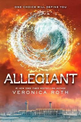 Allegiant by Veronica Roth (Book 3 of Divergent)  - Released Oct. 22